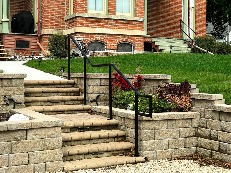 Stone Steps, Retaining Wall, Landscaping Stones, landscaping